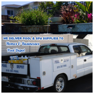 Pool supply Delivery San Diego